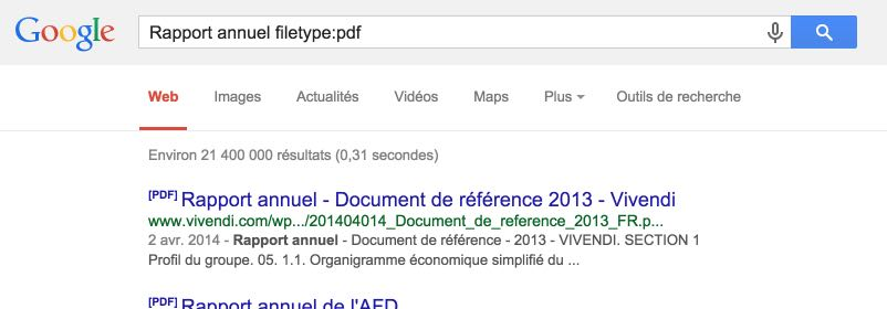 Rapport annuel filetype