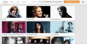 Artistes - Google Play Musique