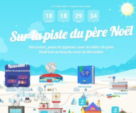 Calendrier avent Google